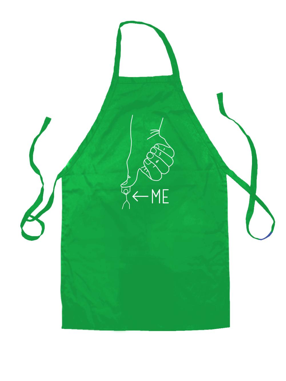 White apron green thumb - Under The Thumb Unisex Apron Whipped Husband Funny