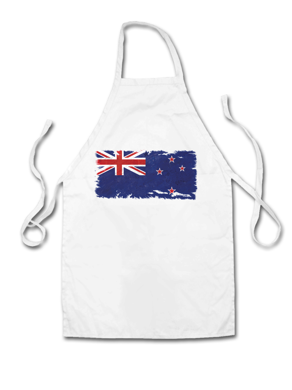 Buy white apron nz - New Zealand Grunge Style Flag Adult Apron Country Chef 5 Colours