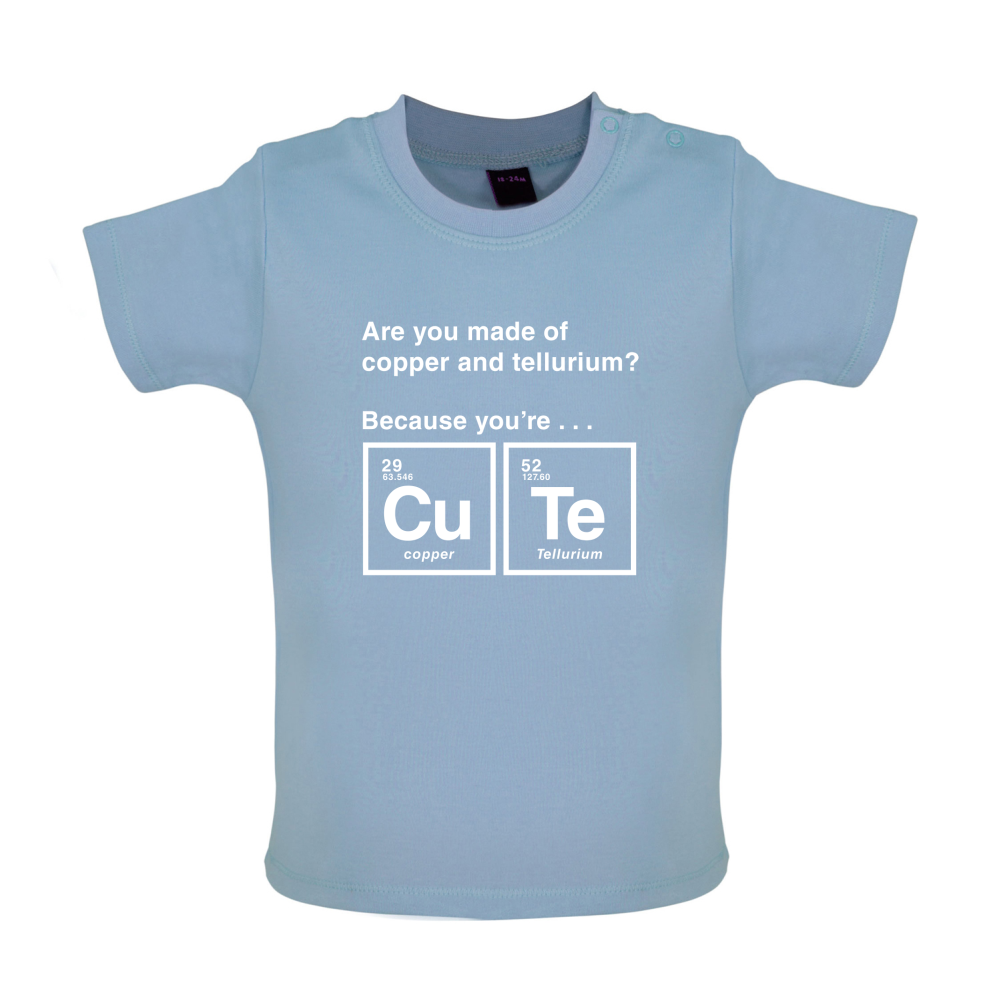 Cute element baby t shirt tee periodic table elements gift cute element baby t shirt tee periodic table urtaz Choice Image