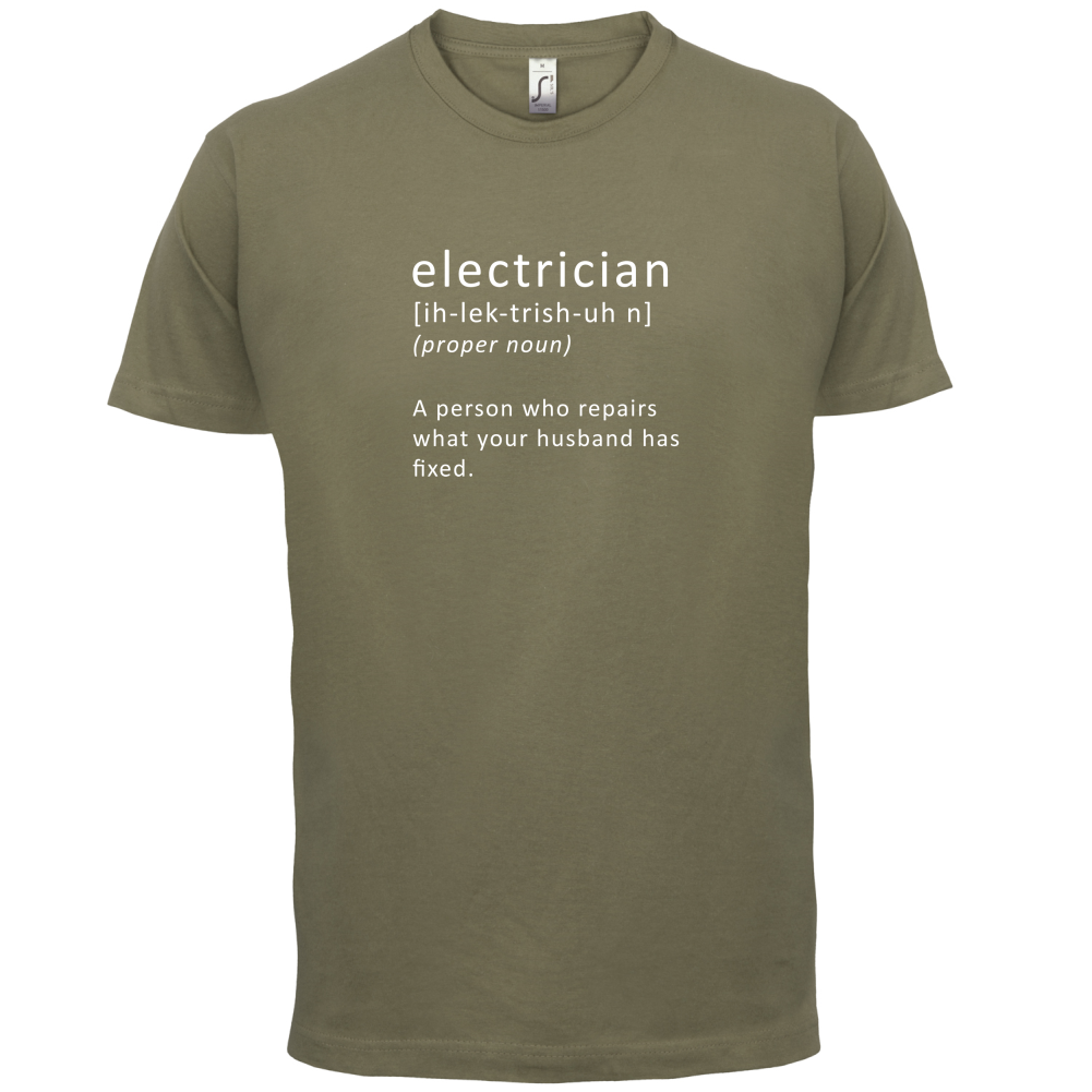 funny electrician t shirts and gifts Quotes