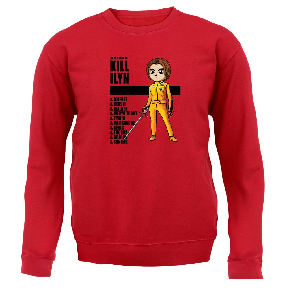 Kill Ilyn List of Names - Unisex Sweater / Jumper - Arya Stark - GOT - 8 Colours   eBay