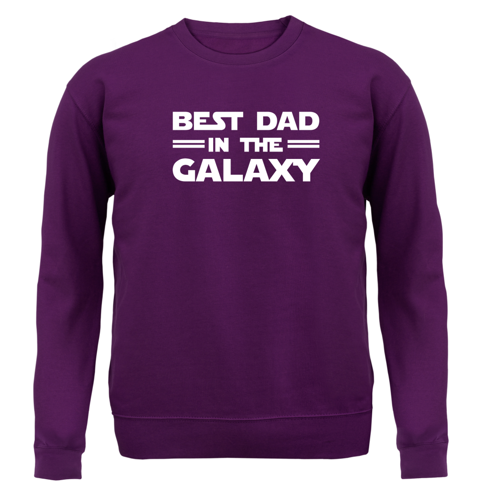 Best Dad In The Galaxy - Unisex Sweater / Jumper