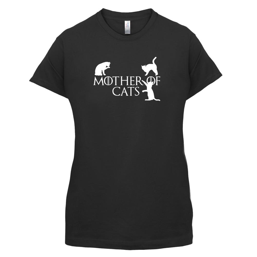 White t shirt ebay uk - Mother Of Cats Womens Ladies T Shirt Tv