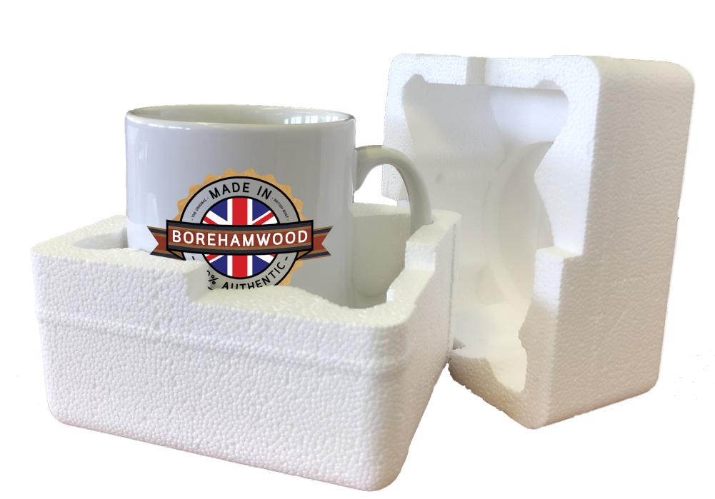 City Home Tea Coffee Made In COLERAINE Mug Town Place